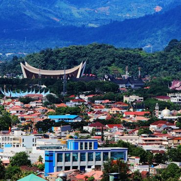 The most important landmarks of Padang