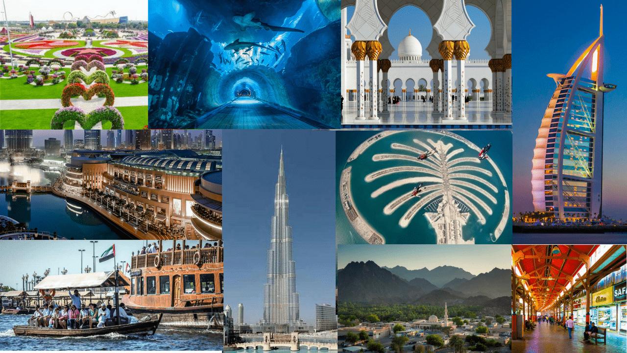 Tourist Attractions in Abu Dhabi & Dubai 3