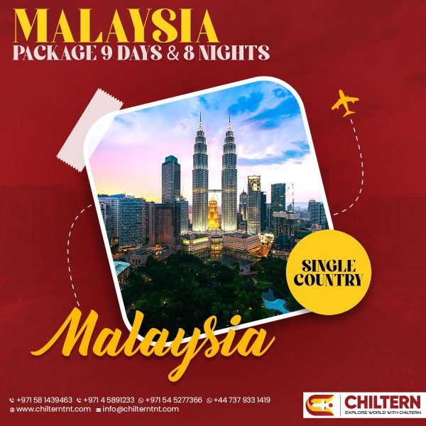 MALAYSIA PACKAGE 9 DAYS AND 8 NIGHTS